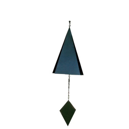 Cheap Rome 9608 Lonesome Canyon Wind Bell, Black Powder Coated Steel, 18-Inch Height