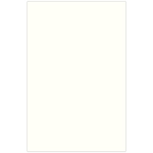 JAM PAPER Legal 80lb Cardstock - 8.5 x 14 Coverstock - Natural White Wove Strathmore - 50 Sheets/Pack