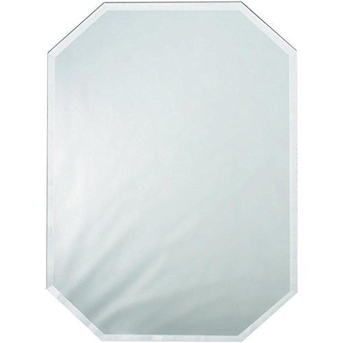 Brand New Octagon Glass Mirror Place Mat W/Bevel Edge Bulk-12