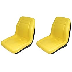 JOHN DEERE GATOR SEATS 2 X (TWO SEATS) AM129969 6X4 4X4 4X2 CX E TE TH TRAIL TURF