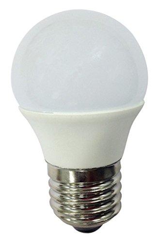 Wonderlamp W-B000059 - Bombilla LED SMD alta potencia E27 esférica , 6 W ,