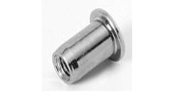 RND Body TU-SM4UFO50ZT M4x0.07 100 PK CSK HD Steel Zinc CLR 3.51-5.00mm GR RIVETNUT