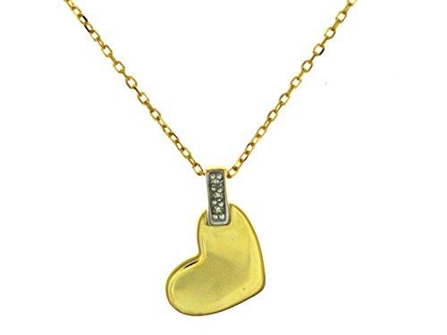 Indygo Femme 9carats (375/1000) Or jaune Diamant Accessoires