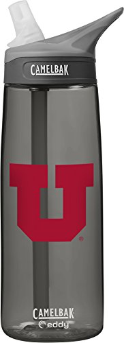 NCAA Utah Utes Collegiate Water Bottle, 75 L, Cardinal