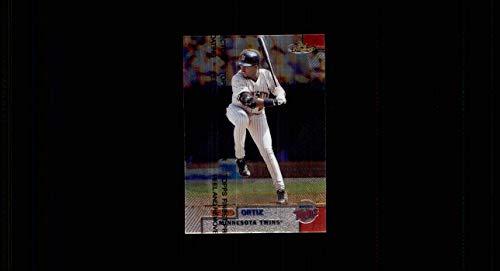 1999 Finest #166 David Ortiz MINNESOTA TWINS