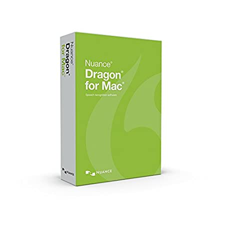 Nuance Communications Dragon for MAC 5.0, US ENGLISH