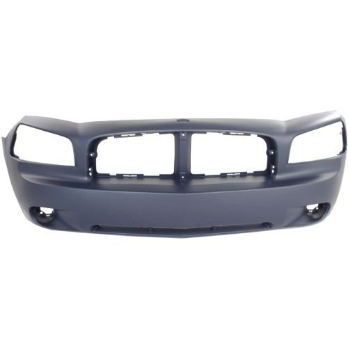 Make Auto Parts Manufacturing - BUMPER COVER; FRONT; [FITS ALL MODELS BUT SRT8 AND DAYTONA/RT WITH - CH1000461