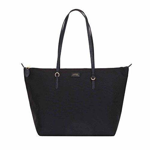 RALPH SHOPPER MEDIUM BLACK NYLON LAUREN BBfwxqprv