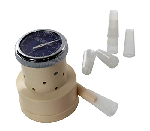 Baseline 12-1710 Windmill Type Buhl portable spirometer with Mouthpieces ()