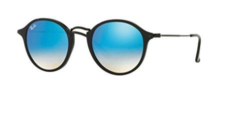 Ray Ban RB2447 901/4O 49M Shiny Black/Mirror Gradient Blue