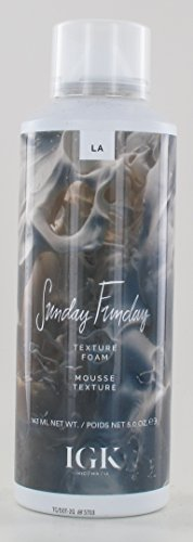 - IGK Sunday Funday Texture Foam 5oz