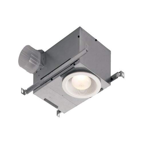 Broan-NuTone 744 744NT Recessed Fan and Light, 70 CFM - Mirrors Grainger Bathroom