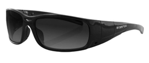 Bobster Gunner Converible Sunglasses, Black Frame/Photochromic and Clear - Sunglasses Photochromic Motorcycle
