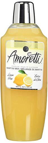 Amoretti Premium Martini Cocktail Mix, Lemon Drop, 28 Ounce (2 Pack)