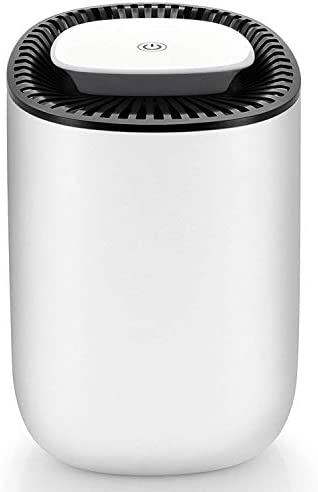 Hysure Quiet and Portable Dehumidifier Electric, Deshumidificador, Home Dehumidifier for Bathroom, Crawl Space, Bedroom, RV, Baby Room 600ml