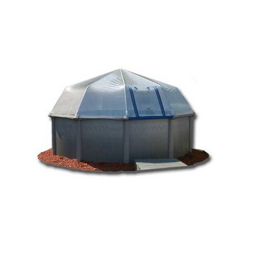 Amazoncom Sun Dome 16Ft X24Ft Oval 16 Panel Kit Swimming Pool