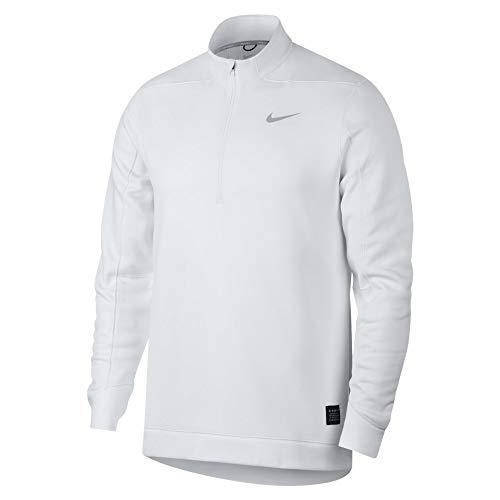 Nike Therma Repel Half-Zip Men's Golf Top (White, X-Large)