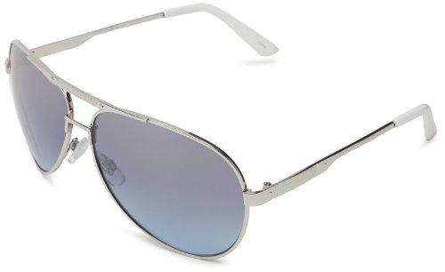 Rocawear R1249 SLVBL Aviator Sunglasses,Silver & Blue,63 - Sunglasses Rocawear Mens