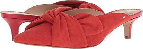 Sam Edelman Women's Laney Bow Mules, Candy Red, 8.5 B(M) US (Kitten Mule)