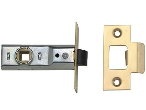 Yale PM888 Tubular Latch 64mm PB x 3 - Door Lock Replacement