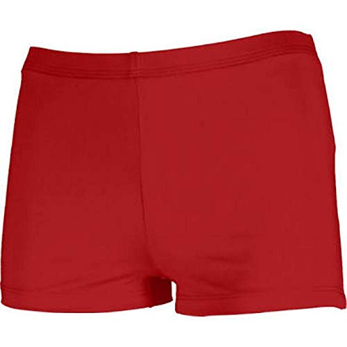 JB Bloomers Adult Boy Cut Brief Red Large