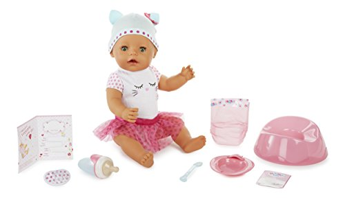 BABY Born Interactive Doll- Green Eyes
