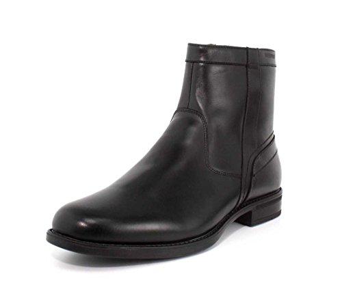 Florsheim Mens Midtown Imperméable Zipper Boot Noir