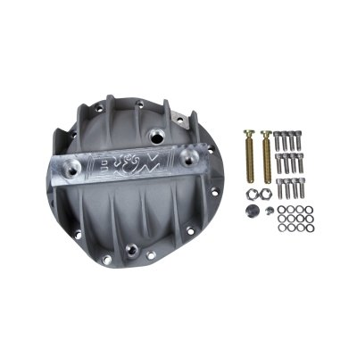 "B&M 70504 Cast Aluminum Rear End Differential Cover with 8.875"" Bolt for Chevy Truck"