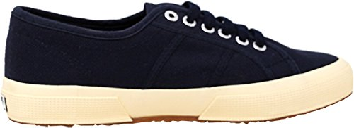 Superga 2750 Animalnetw, Women's Low-Top Sneakers Navy