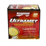 CHAMPION NUTRITION, ULTRAMET,VANILLA 20/76 GM EA 1