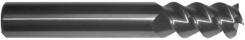 F/&D Tool Company 19271 Multiple Flute Single End Straight Shank Roughing Endmill 5//8 Flute Length 3//8 Shank Diameter 1//4 Mill Diameter 2 7//16 Overall Length 4 Number of Flutes Non Center Cutting Premium Cobalt Steel