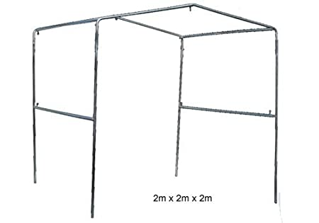 Frame for Elephant Tent / Work Shelter 2x2x2m (in kit form): Amazon ...
