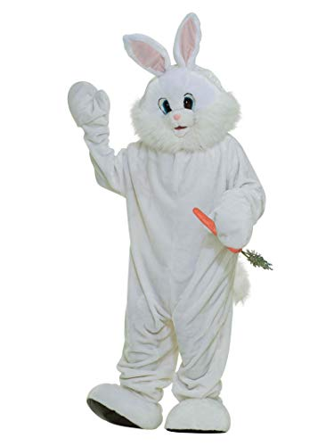 Bunny Suit - Forum Deluxe Plush Bunny Rabbit Mascot