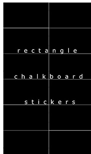 - nbnio Wall Art Decor Decals Removable Mural Square Chalkboard for Bedroom Living Room Home Quotes