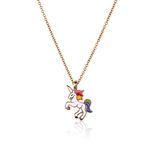 Unicorn Charm Necklace - 1