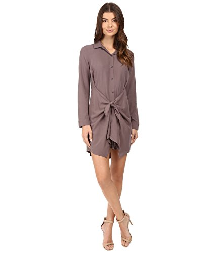 Splendid Women's Rayon Voile Tie Dress Titanium Small