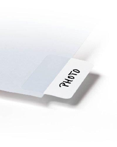 Durable 840402 Selbstklebe-Taben Quick Tab Permanent, weiß, Beutal à 48 Stück
