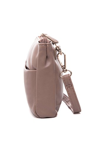 Double Zip Small Crossbody Bag Satchel for Women by AMELIE GALANTI (Image #2)
