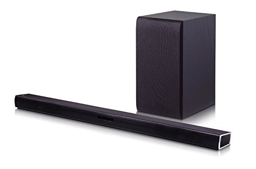 LG SH4 Bluetooth Sound Bar System w/ Wireless Subwoofer (Certified Refurbished)
