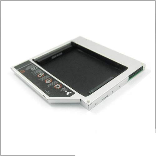 Second HDD SATA Caddy for DELL E-Series and M Series Laptops