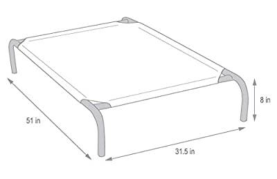 Coolaroo Pet Bed Elevated Pet