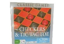 Checkers Tic Family Classic Games