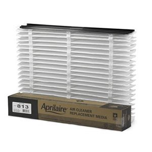 Aprilaire 813 Pleated Filter Media for Air Cleaner (20 x 25) (2 Pack)
