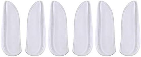 Supvox 3 Paare O/X Bein Orthopädische Einlagen Fersenkissen Gel Fersenpolster Fersenschale Einlegesohle Schuheinlagen für Fuß Schmerzlinderung