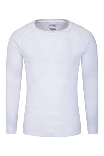 Mountain Warehouse Talus Mens Long Sleeved Round Neck Top