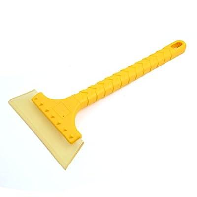 uxcell Multipurpose Anti-slip Handle Rubber Blade Car Windshield Ice Scraper Snow Shovel