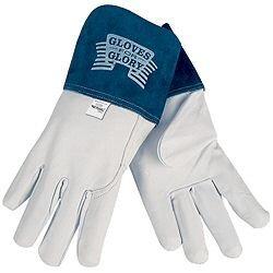 (12 Pair) Memphis 4850 Goatskin MIG/TIG Gunn Pattern Welder Glove, Size (Best Welder Gloves With Gunn Patterns)