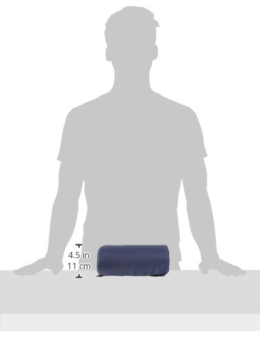 DMI Lumbar Roll Back Support Cushion Pillow - Foam Lumbar Cushion with Cover and Strap, Navy by Duro-Med (Image #10)