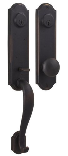 Weslock 07635-1--0020 Stonebriar Exterior Entry Handle, Oil-Rubbed Bronze by Weslock by Weslock
