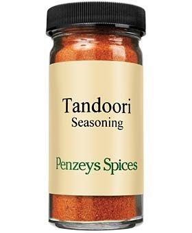 Tandoori Seasoning By Penzeys Spices 2.2 oz 1/2 cup jar -
